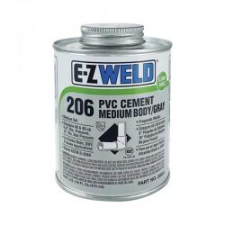 E-Z Weld PVC Clear Cement 1 Qt