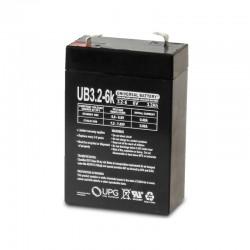 UPG UB632 6 Volt 3.2 Ah AGM...