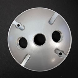 Round Back Plate with 3 Holes